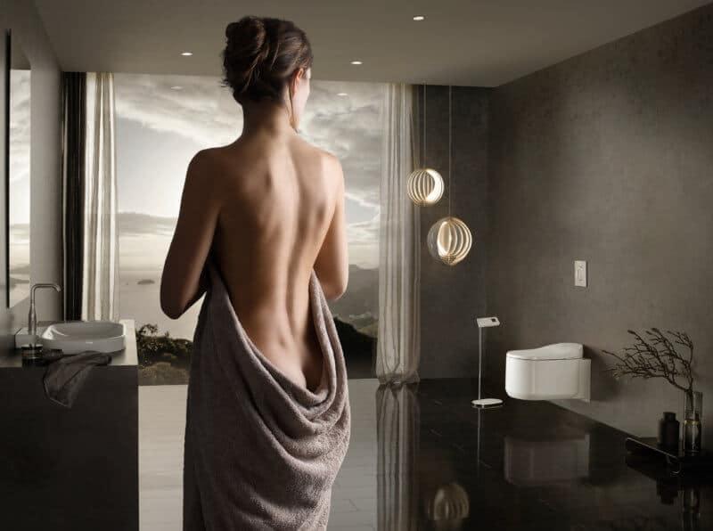 Le WC Lavant de Grohe : Sensia Arena