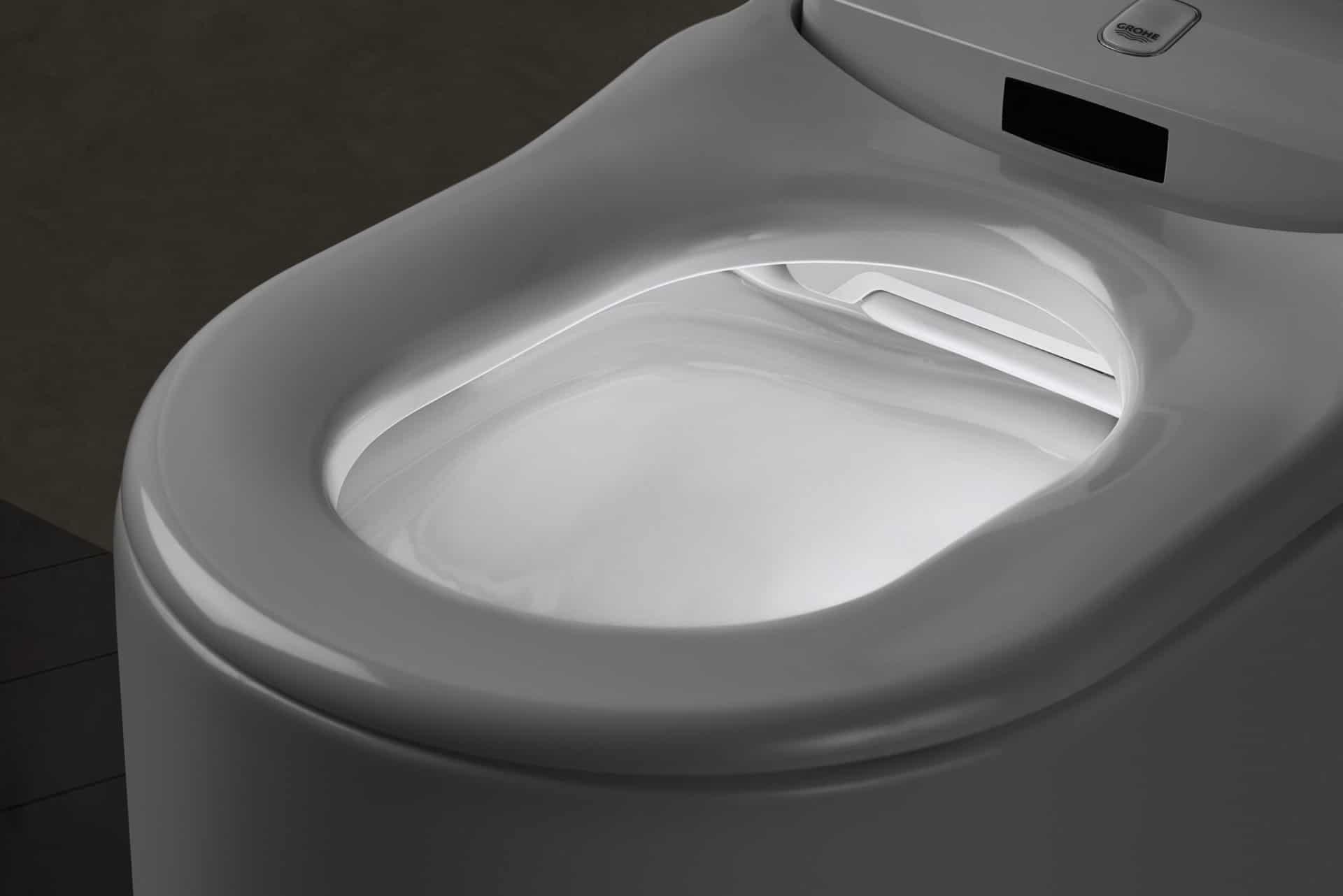 Le WC Lavant de Grohe : Sensia Arena. Innovation intégrée au Concept YRYS.