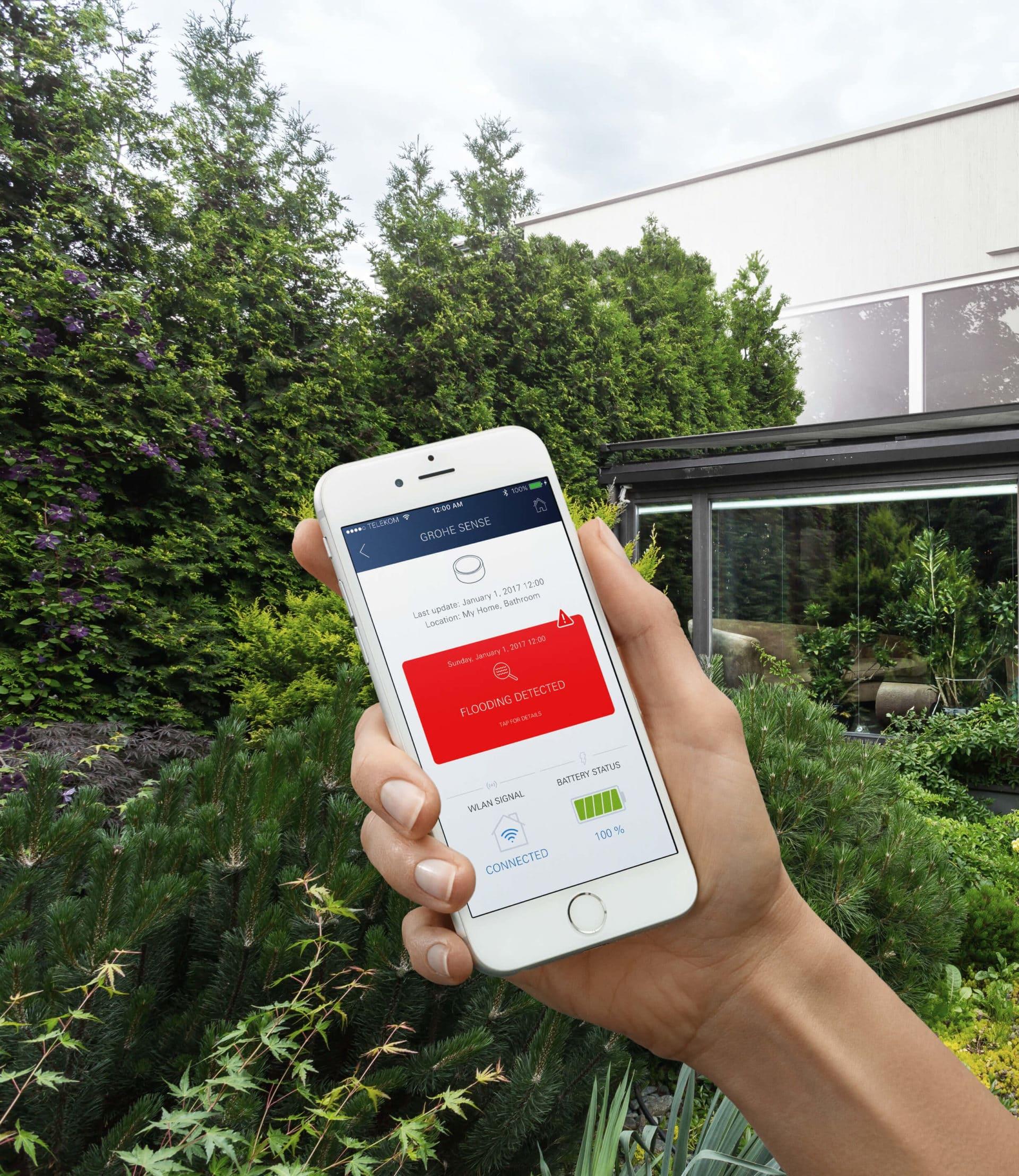 Grohe - ONDUS, l'application Grohe intégrée au Concept YRYS