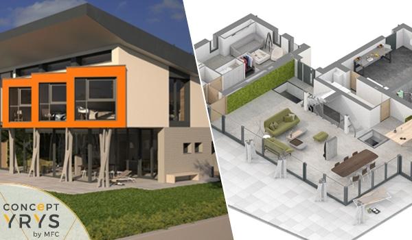 3D et plans du Concept YRYS.