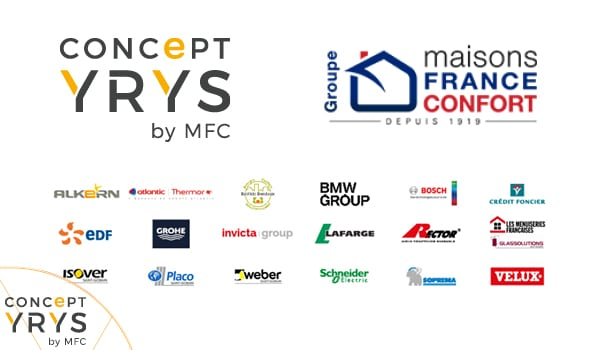 Logos du Concept YRYS by MFC