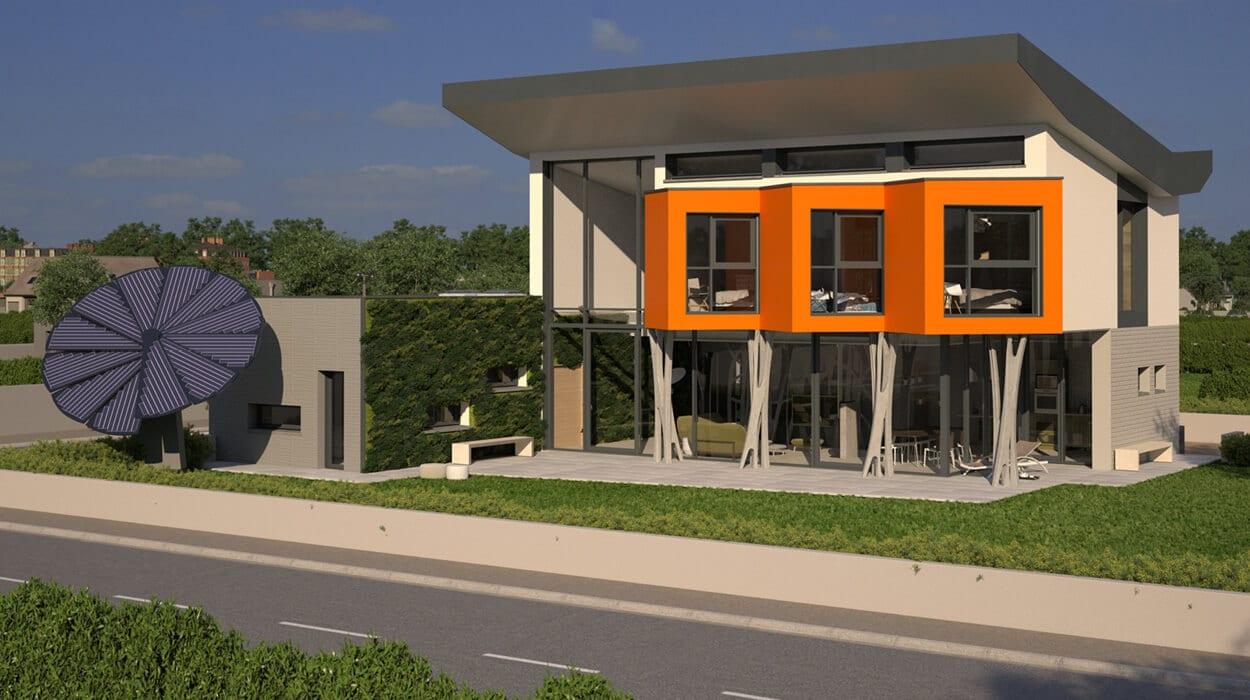 F4 innovation Saint-Gobain pour Concept YRYS.