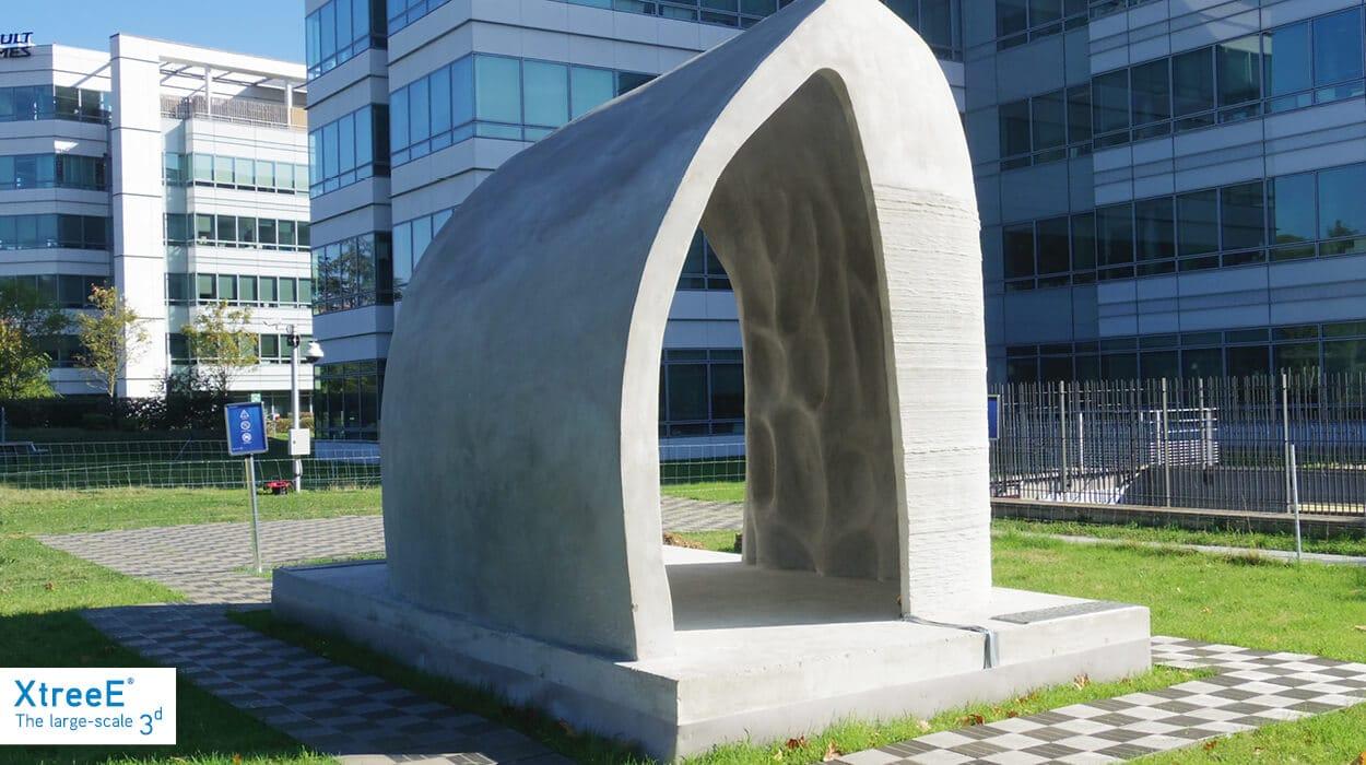 XtreeE realise un pavillon en impression 3D.