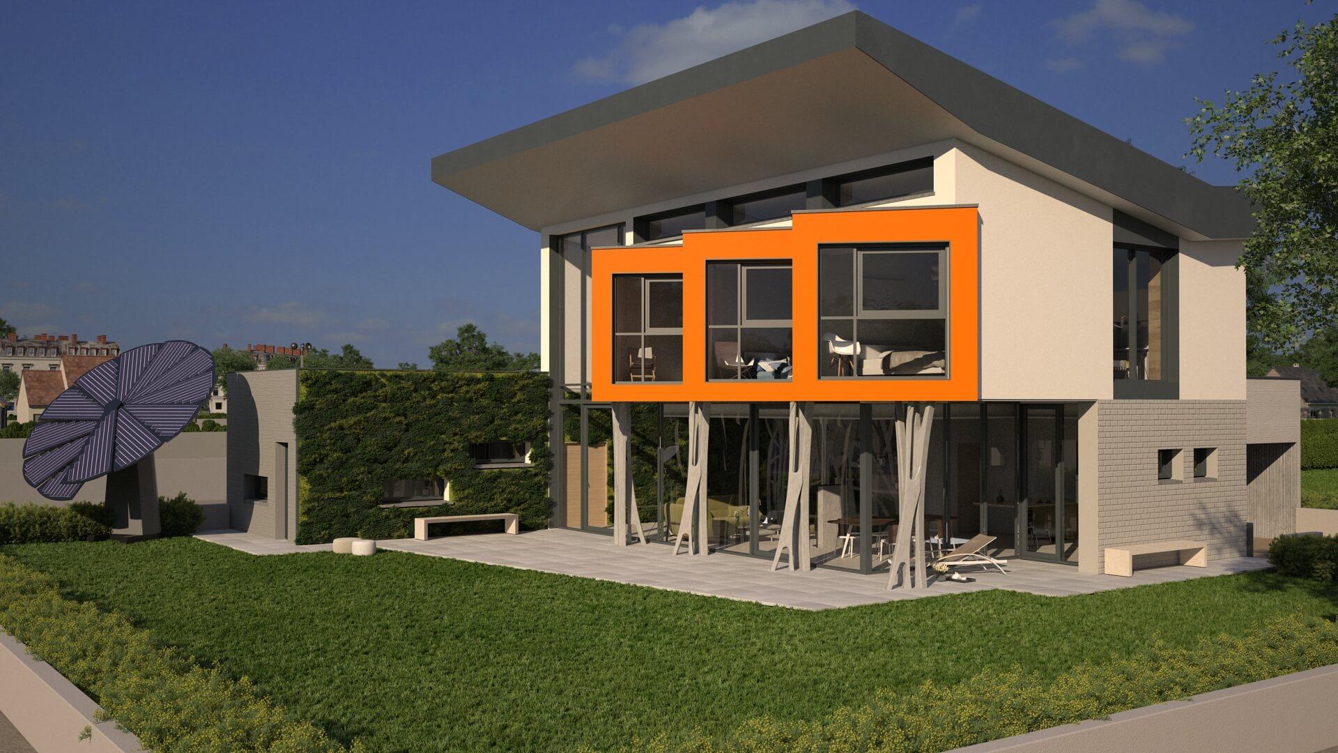 Le Concept YRYS, la maison du futur à Alençon.