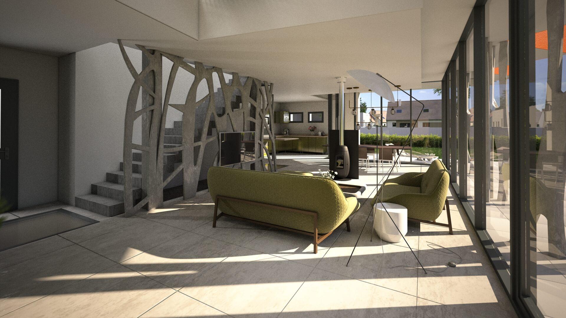 Le salon du Concept YRYS.