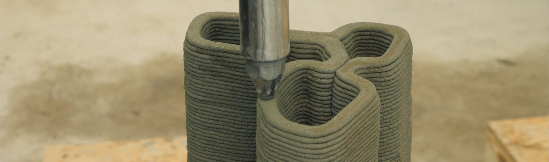 Impression 3D béton Lafarge