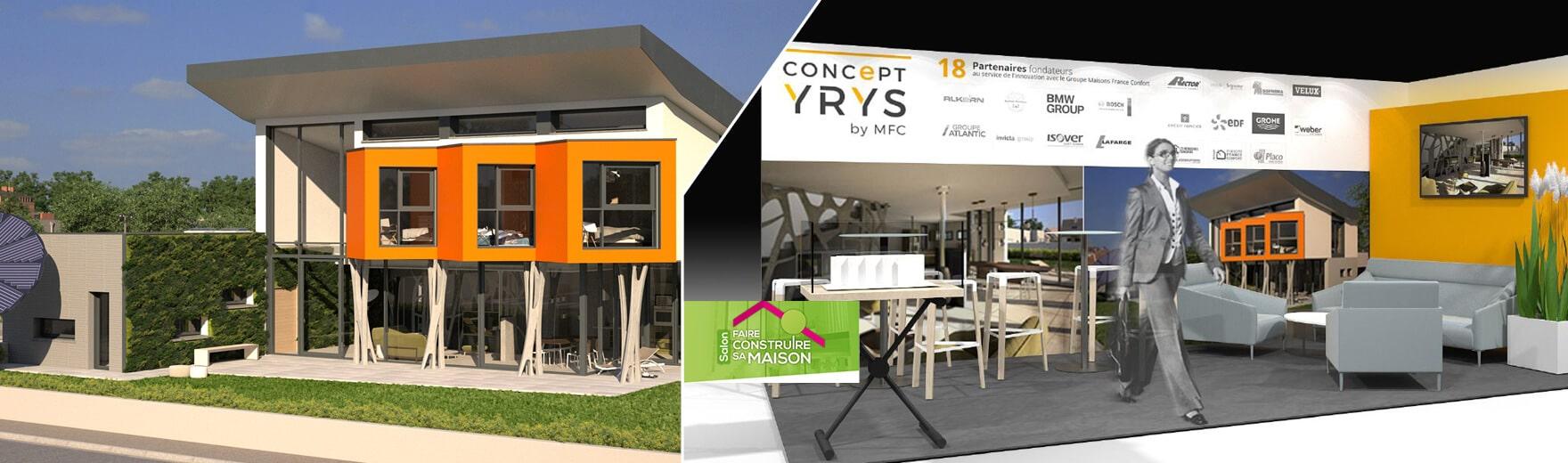 Yrys au salon faire construire sa maison de paris - Salon paris septembre 2017 ...