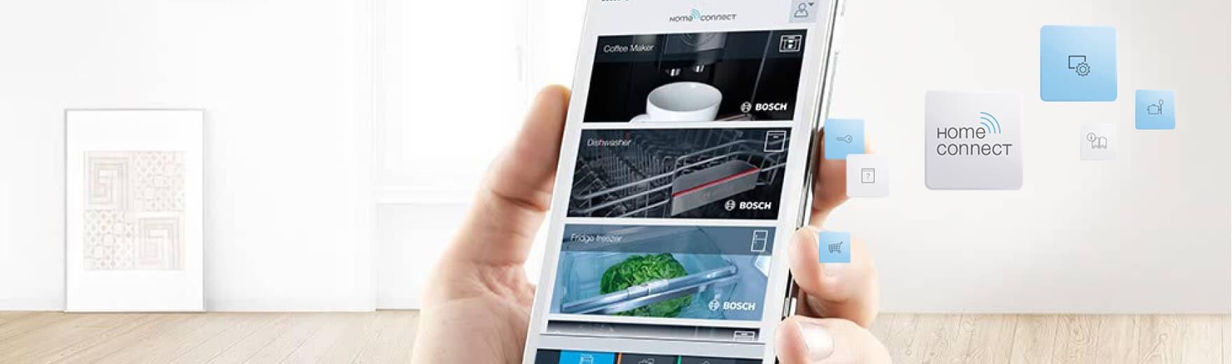 home connect, pilotez sa maison avec bosch | innovations concept yrys