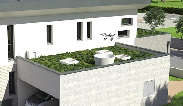 Drone Station, une innovation intégrée au Concept YRYS