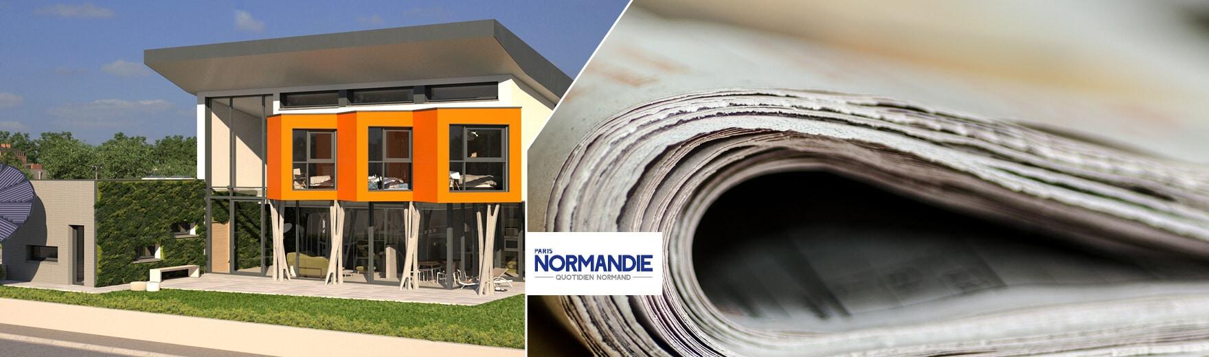 Concept YRYS un article dans Paris-Normandie