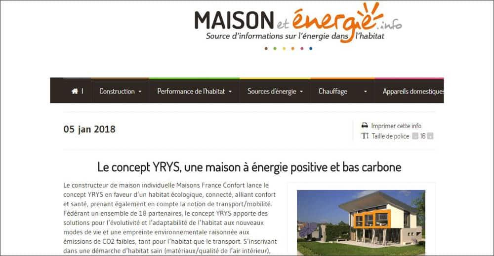 Maison et énergie