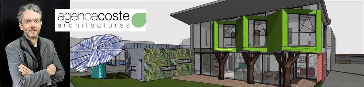 Croquis du Concept YRYS réalisé par l'agence Coste Architecture.