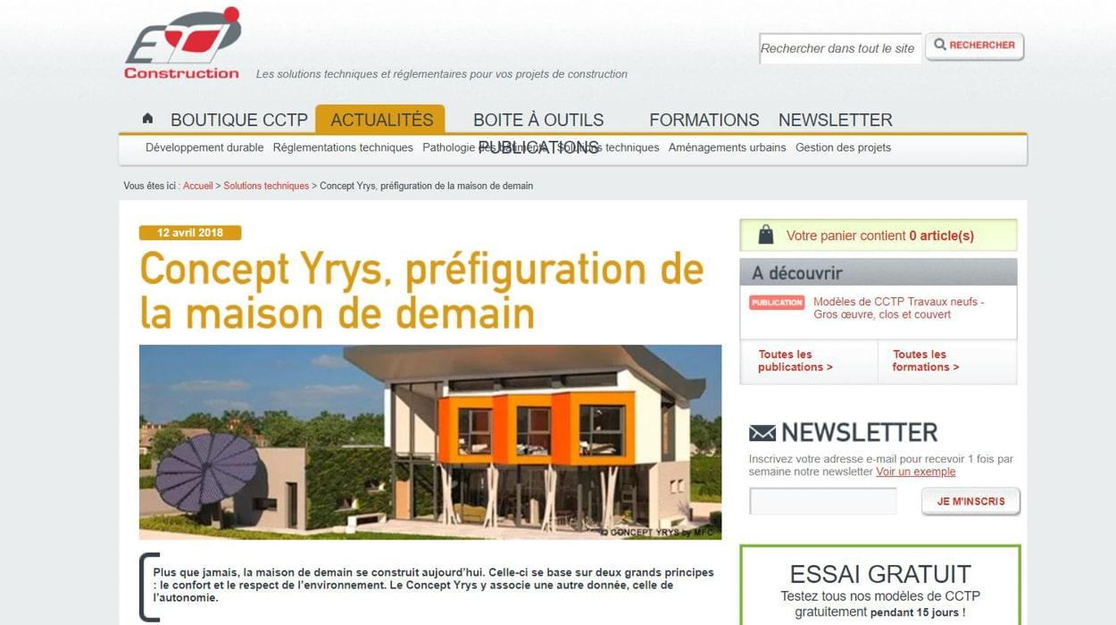 YRYS présenté par ETI Construction