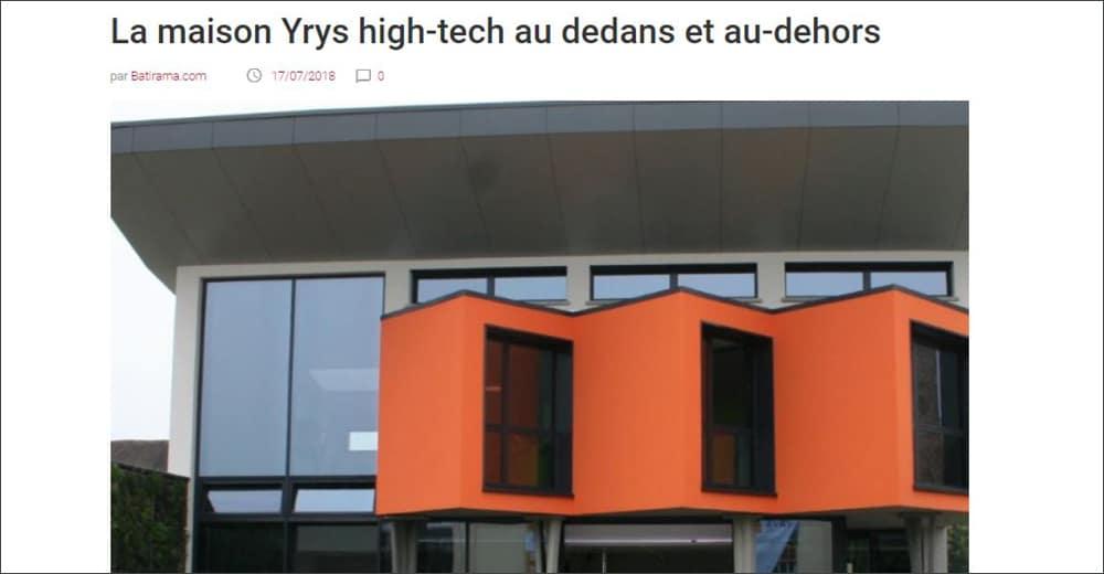 Batirama - Concept YRYS, high-tech