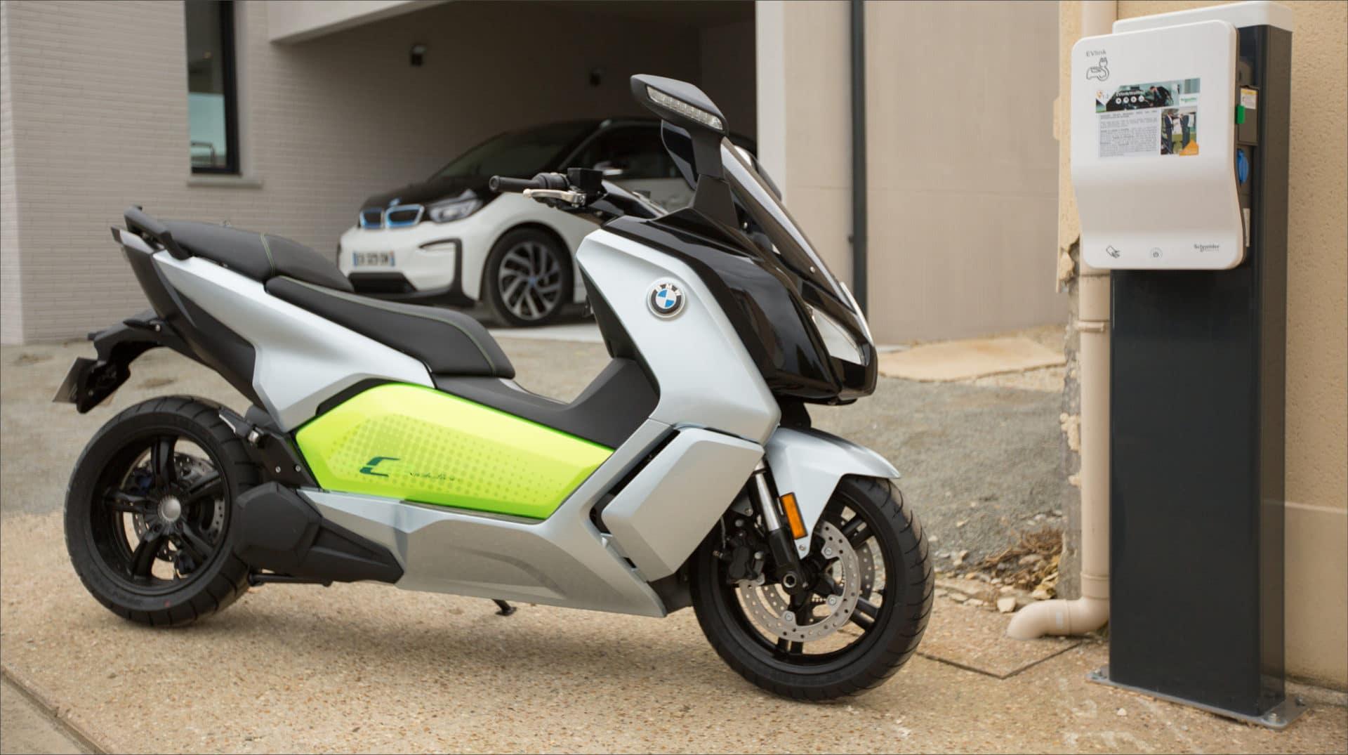 La mobilité de demain, scooter électrique BMW