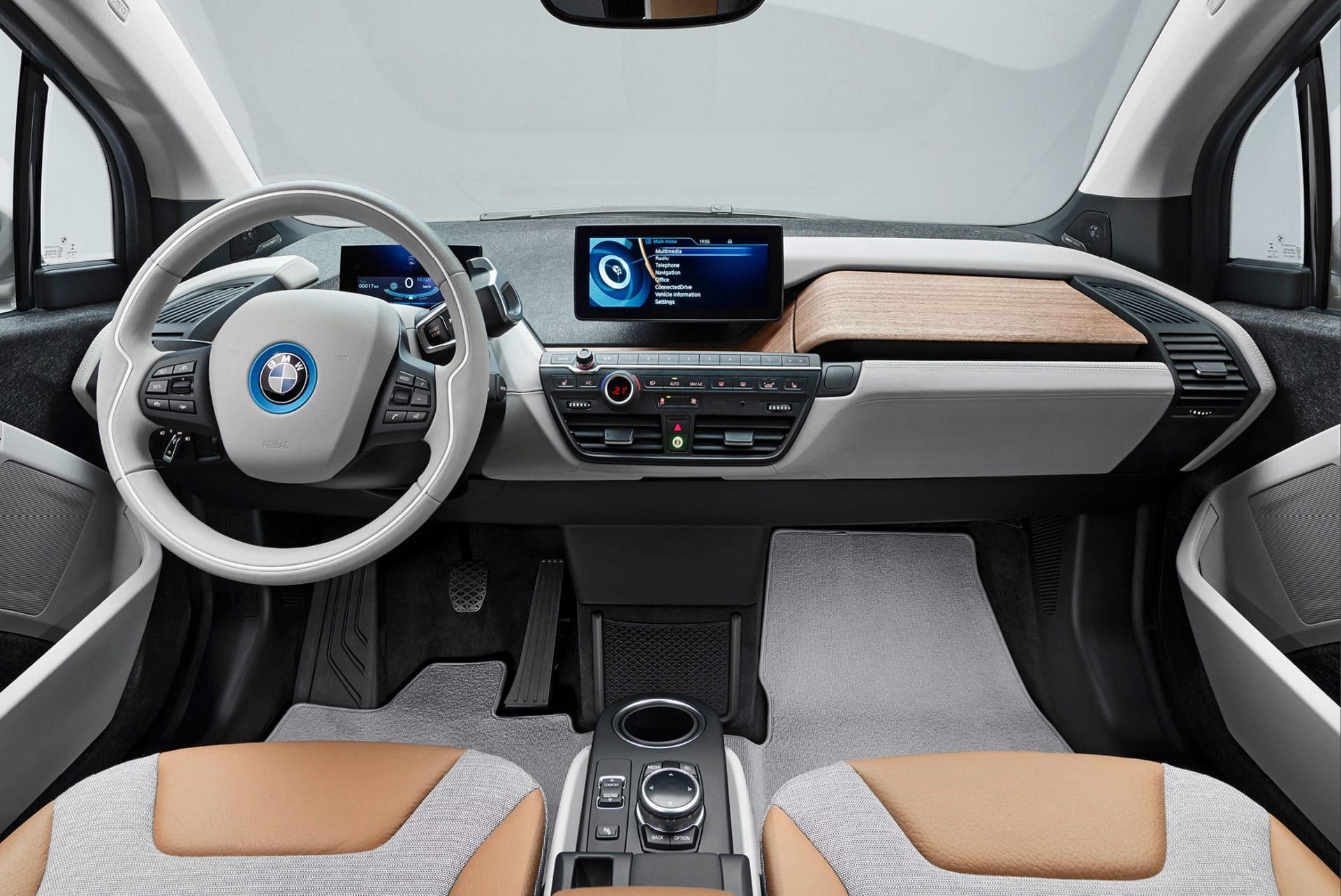 Intérieur BMW i3 - Concept YRYS