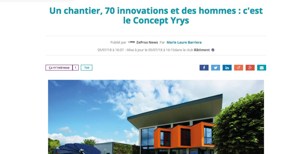 Tokster : YRYS, 70 innovations