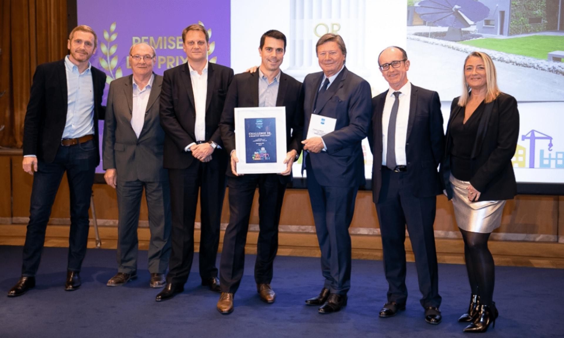 Challenge LCA-FFB, médaille d'or pour le Concept YRYS