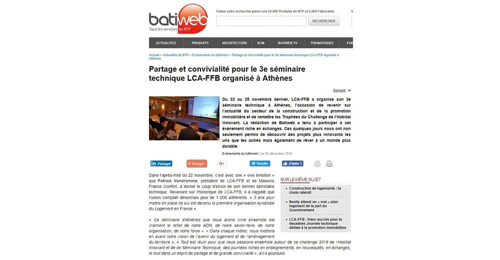article Batiweb Yrys