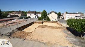 Phase 2 du terrassement